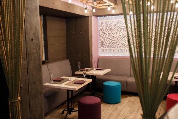 Банкетний зал в ресторані Fiji