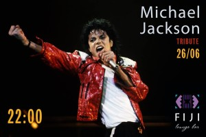 27 июня – Michael Jackson Tribute в FIJI Lounge Bar