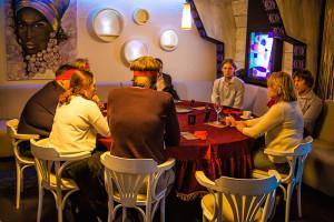 Вечер настольных игр в FIJI